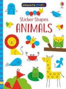 Sticker Shapes Animals