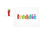 Feel Good Art High Gloss Placemat and Coaster for Babies/Toddlers