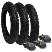 An Alternative Set of Tyres and Tubes for Phil & Teds Sports/E3 - Off Road Tread Pattern