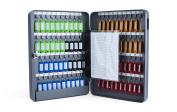 PAVO 8027057 Key Cabinet for 80 Keys - Dark Grey