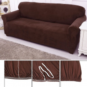 OGORI 1/2/3 Seater Sofa Slipcover Stretch Protector Soft Couch Cover Washable Easy Fit