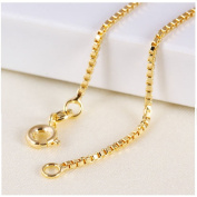 9ct 9K Yellow Gold Plated Baby Girl Children NECKLACE CHAIN. L=35cm ,Gift