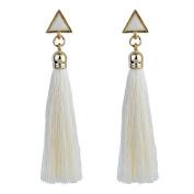 hunpta Bohemian Women Ethnic Hanging Rope Tassel Earrings