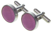 High Quality Mens Silky Satin Cufflinks in 45 Colours Matching Silky Satin Ties, Cravats & Handkerchiefs Available *UK Seller*