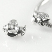 Bee - Bumblebee - Animal - Insect - 925 Sterling Silver Charm Bead - European Style