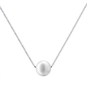 Viki Lynn Ladies Earrings with Freshwater cultured Pearls Necklace and 100% 925 Sterling Silver