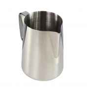 Milk Jug Stainless Steel Coffee Latte Milk Frothing Pitcher Exta Large Size - 2L Milk Foaming Jug
