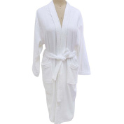 Unisex Towelling Robe 100% Cotton Terry Towel Bathrobe Dressing Gown Bath Robe Perfect for Gym Shower Spa Hotel Robe Holiday Present or Christmas Gift