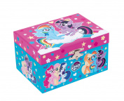 Joy Toy 95769 My Little Pony Jewellery Box with Game Clock in Attractive Package, 15 x 10.5 x 8.5 cm