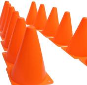 Dazzling Toys Traffic Orange Cones - Pack of 12