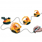 HARRYSTORE Follow Any Drawn Line Magic Pen Inductive Car Truck Model Children Kids Toy Gif