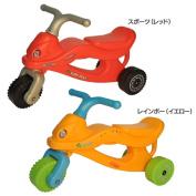 Kids motorcycle Eiwa, sports (red), rainbow