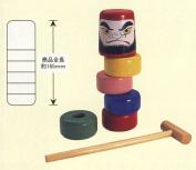 Daruma-otoshi (wood)