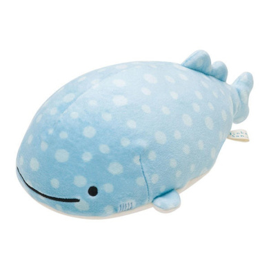 To (S) MR-58201 goods / and straw including the supermarket rice cake rice cake sewing or healing goods / marshmallow polyester whale shark / Christmas present present gift