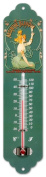 Cartexpo TT878 Drinks-Themed Metal Thermometer, Absinthe Blanqui Motif [Text in French]