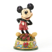 Disney Traditions August Mickey Mouse Figurine
