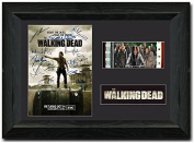 The Walking Dead Framed 35 mm Film Cell Display Stunning Fan Art Signed Comic Con S20