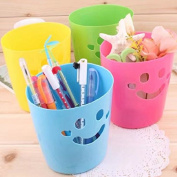 Creative home mini desktop multi-purpose storage basket portable debris basket, colour random
