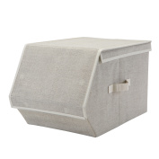 Simplify Large/Deep Collapsible Storage Chest W/ Magnetic Lid