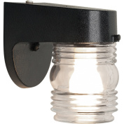 Chapter Out Door Lht Jelly Jar Bk W/ Bulb