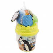 Beach Bucket Set with Ball 4 Pieces