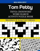 Tom Petty Trivia Crossword Word Search Activity Puzzle Book