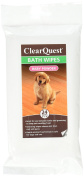 Bath Wipes - Alcohol-Free Wipes for Cleaning and Deodorising Dogs and Cats Between Baths - Baby Powder, 24-Pack, Keep your pets fresh and.., By ClearQuest
