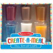 Melissa & Doug Food Fun – Fill 'Em Up Cups