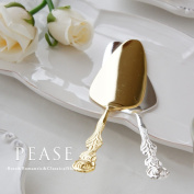 Rose Cake Server Gold / Silver stainless steel Japan-made cutlery stylish kitchen