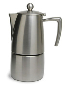 Open fire-type espresso maker 4 Cup use