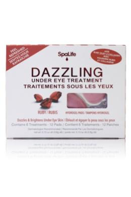 My Spa Life Under Eye Treatment, Dazzling Ruby , 6 Ct