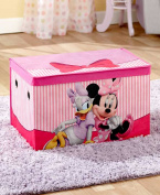 The Lakeside CollectionKids' Collapsible Storage Trunk- Minnie Mouse