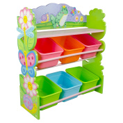 Fantasy Fields - Magic Garden Toy Organiser with Storage Bins