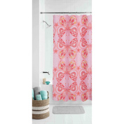 Mainstays Kids Boho Butterfly Shower Curtain