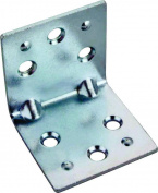 Prosource BH-605PS Corner Braces, Steel - Double Wide, 5.1cm