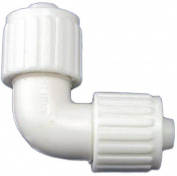 Flair-It 16815 Tube Elbow, 90 Deg, 1cm , PEX, Polybutylene