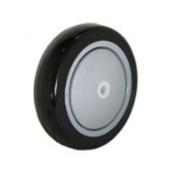 (1) 2 Caster Wheel 1cm ID 10cm x 2.5cm - 0.6cm Polyurethane 10cm x 2.5cm - 0.6cm Polyurethane