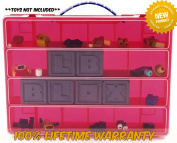 Life Made Better Toy Storage Organiser. Fits Up to 60 Mini Figures And Accessories. Compatible With Roblox TM - Red