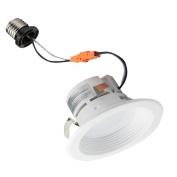 LED Recessed Lighting Retrofit Kit 10cm 3000K Baffled Bezel