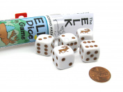 Koplow Games Elk Dice Game with 5 Dice Travel Tube and Gaming Instructions #18771