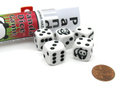 Koplow Games Panda Dice Game with 5 Dice Travel Tube and Gaming Instructions #18774