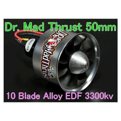 Dr. Mad Thrust 50mm EDF 3300kv 10 Blade Alloy