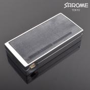 Salome portable ashtray EXPA61-02 Silver Blue bridle leather sarome brand portable ashtray expa61-02