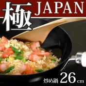 Fry river light pole JAPAN iron; pan 26cm [deep swage frying pan] JAN