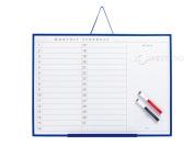 Schedule Board NP [L] scour Management Office shop message board Board notes calendar