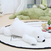 Newborn Baby Pillow Polar Bear Stuffed Plush Animals Baby Soft Toy Kids