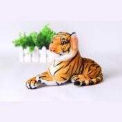 25cm Plush Tiger Animal Toys Child Gift Stuffed Animal Children Kids Birthday Gift Orange Color