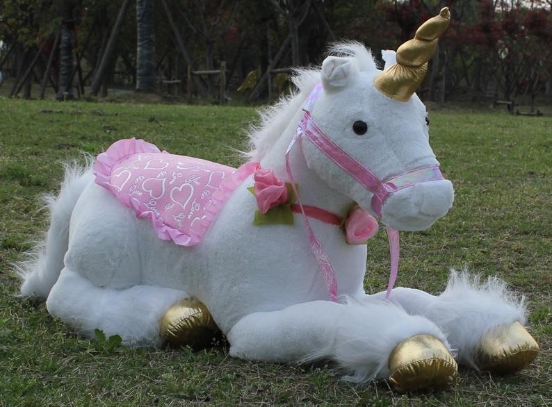 Surprising Huge Pink Unicorn Plush Toy Large 120 Cm Jumbo Cuddly Kids Creativecarmelina Interior Chair Design Creativecarmelinacom
