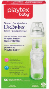 Playtex Drop-Ins Disposable Bottle Liners - 50 EA 240ml