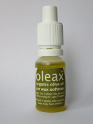 Oleax Extra Virgin Organic Olive Oil Ear Wax Softener - no preservatives